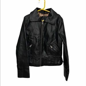 B. HIP Girls 10 Faux Leather Jacket